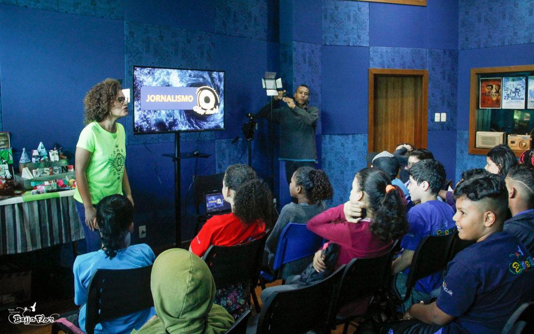 Início das aulas no Núcleo de Comunicação.