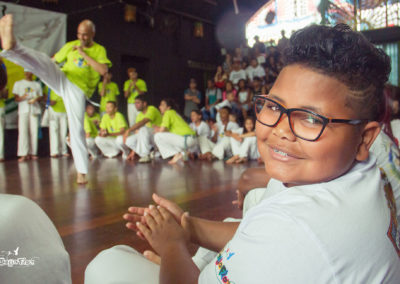 Batizado de Capoeira na Rede Cultural Beija Flor