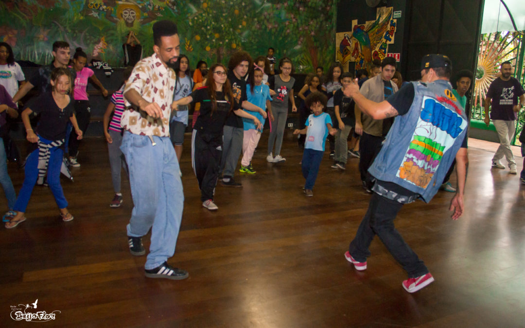Workshop de danças urbanas.