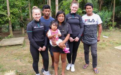 Escola norueguesa visita a RCBF.