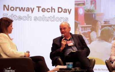 Participação dos jovens no evento Norway Tech day.