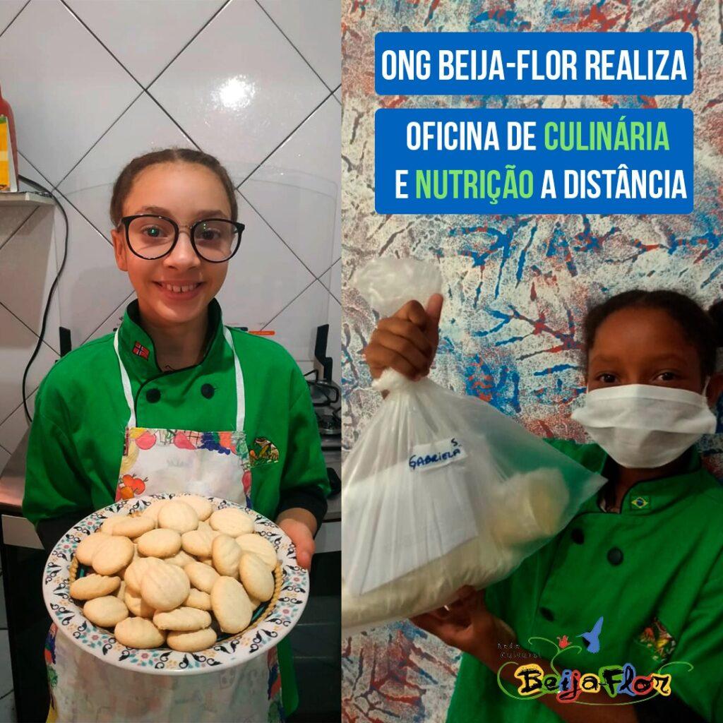 nutri-ação oficina de biscoito