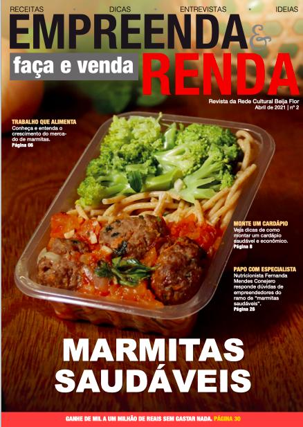 A RCBF lança a segunda edição da Revista Empreenda & Renda, focada no mercado das marmitas