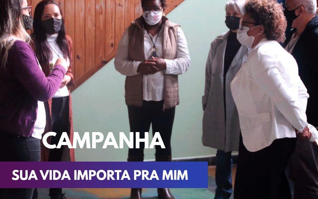 Arrecadação de alimentos: membros da Prefeitura de Diadema visitam sede da RCBF