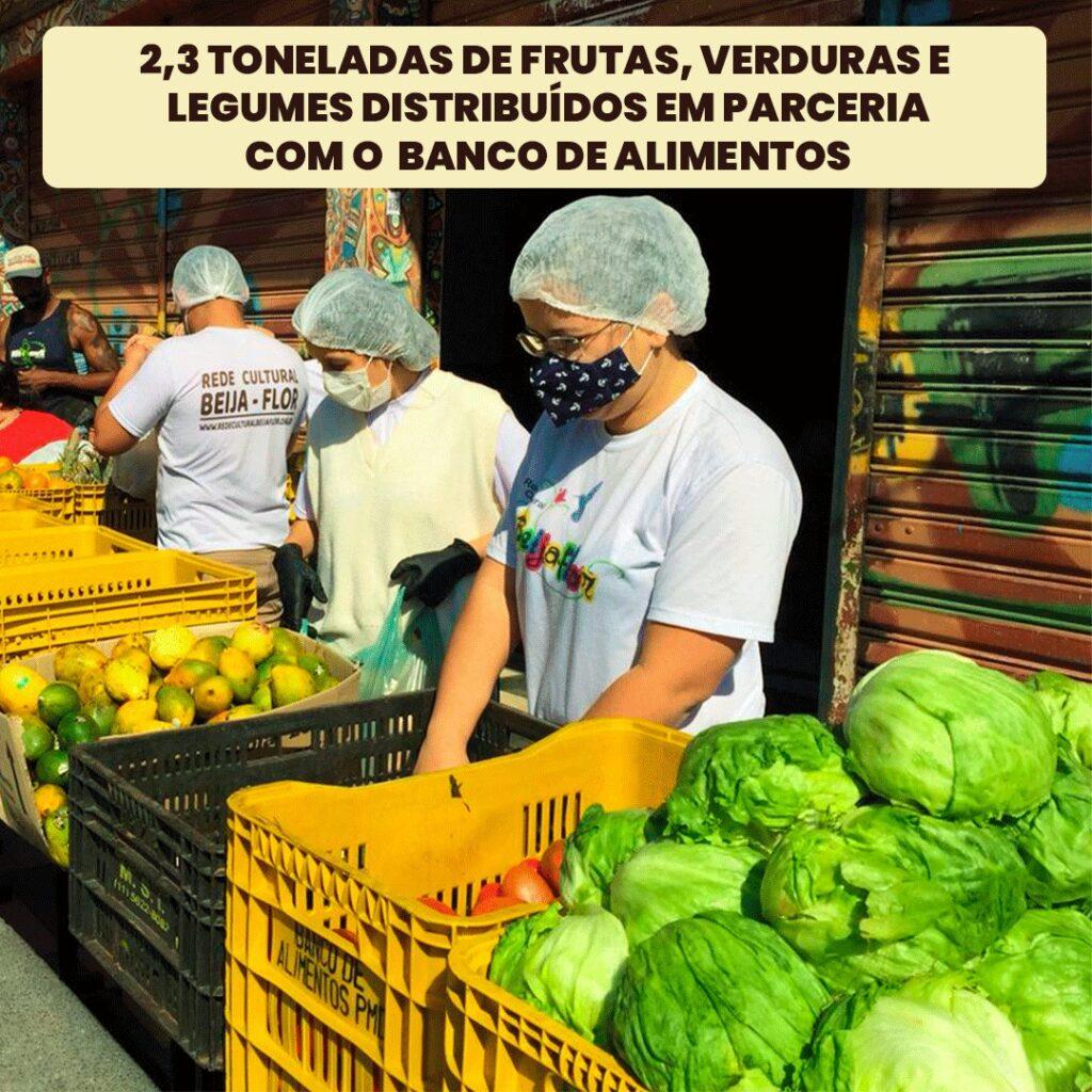 RCBF recebe doações do Banco de alimentos de Diadema
