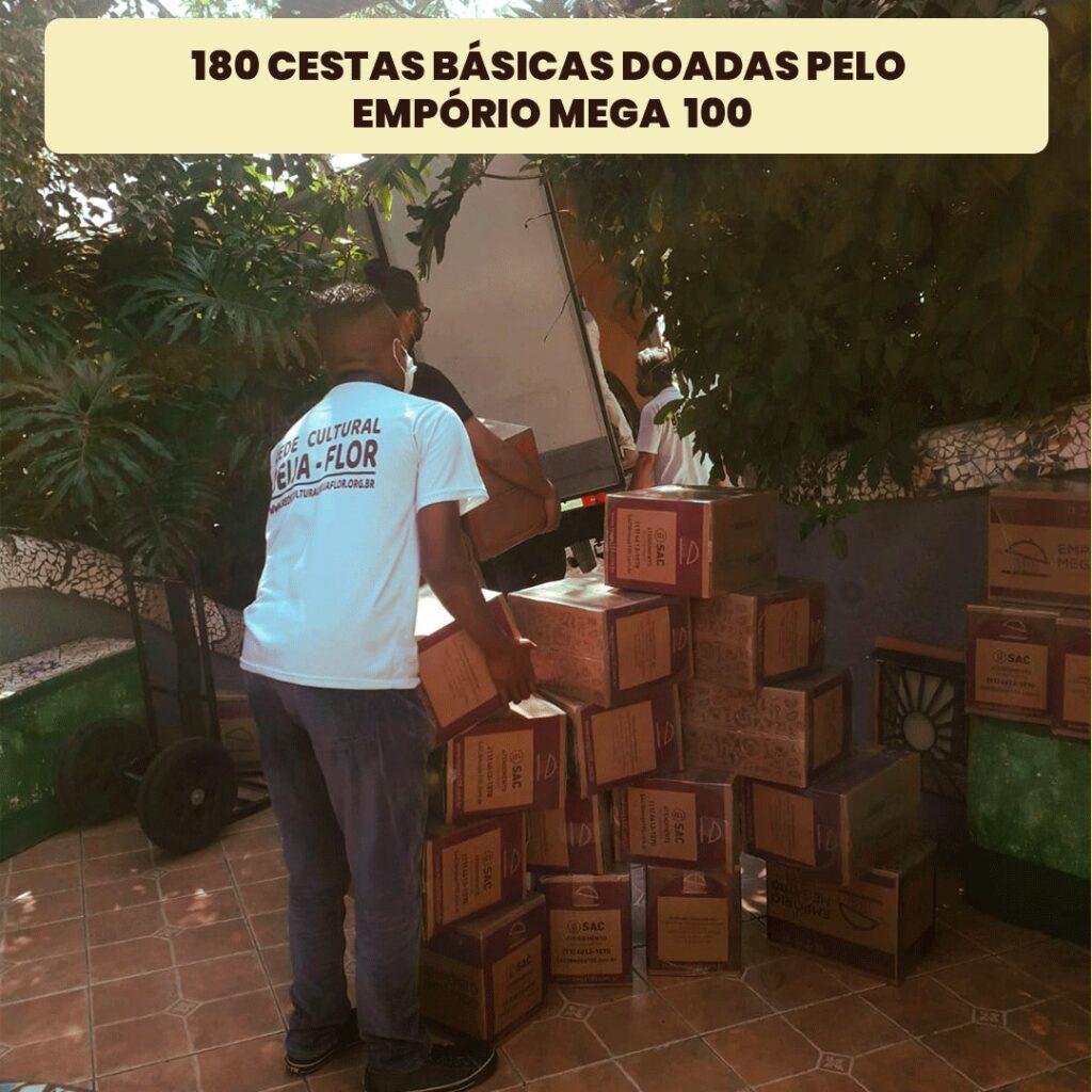 RCBF recebe doações do Empório Mega 100