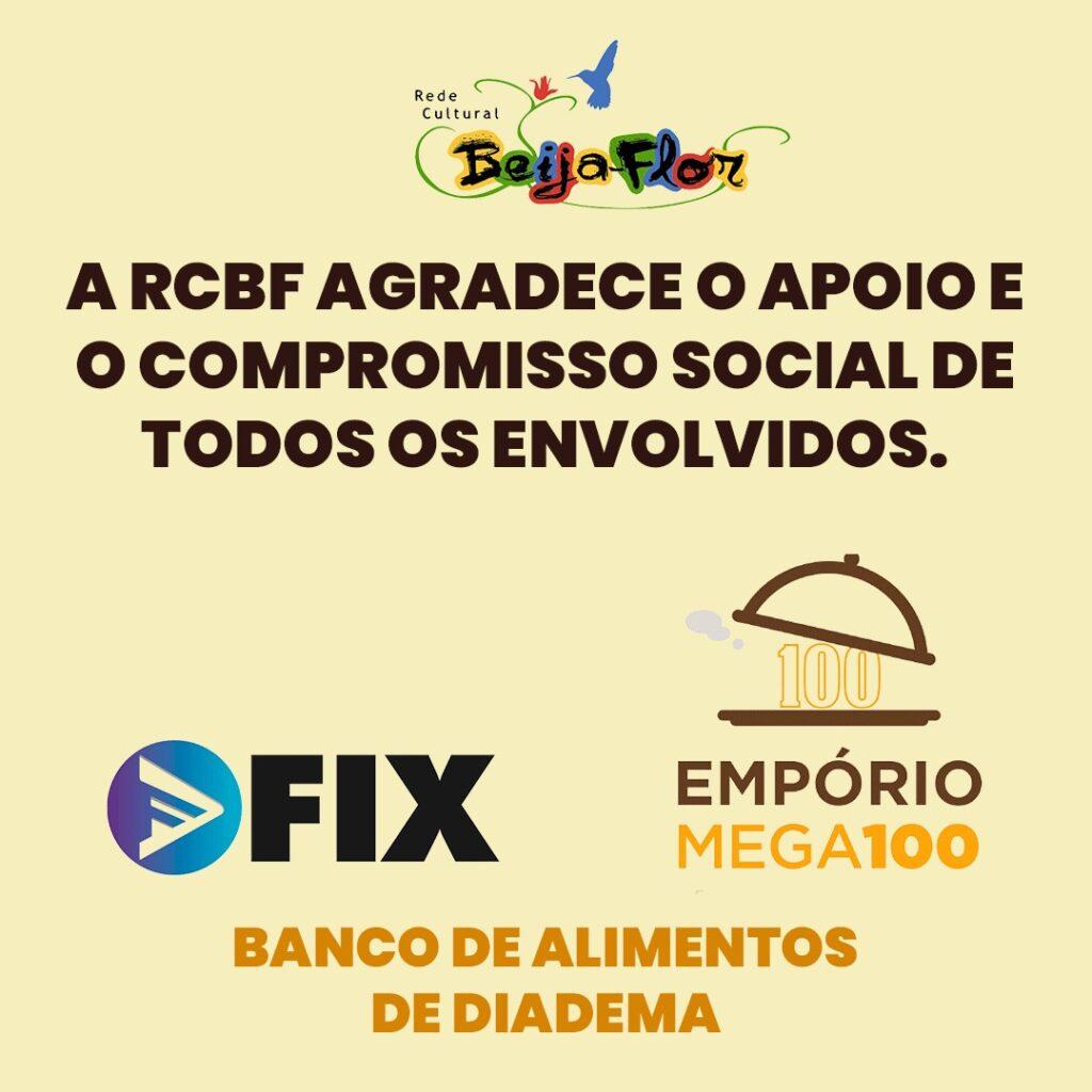 RCBF agradece seus doadores